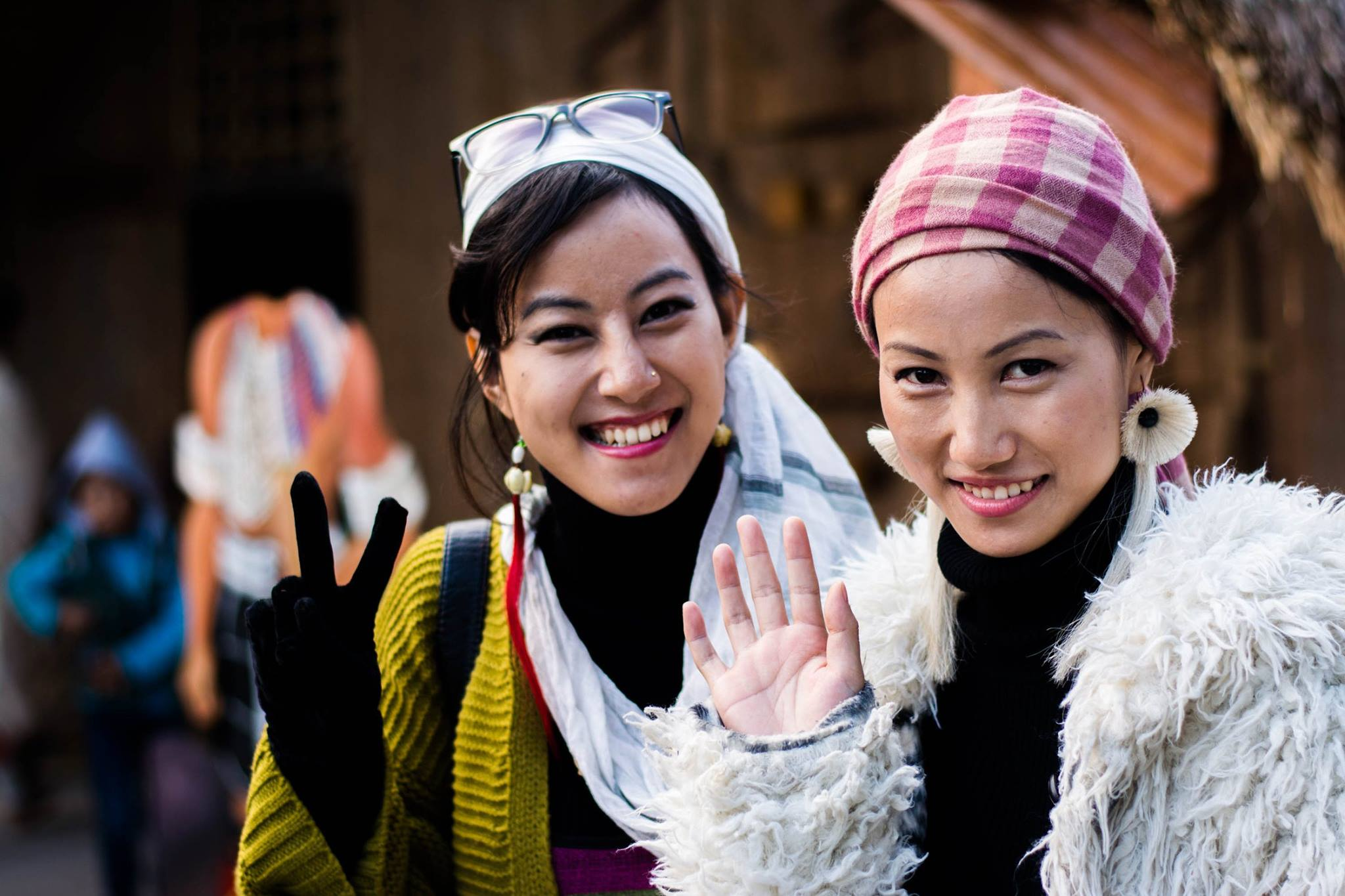 Beautiful Naga Women in Hornbill Festival
