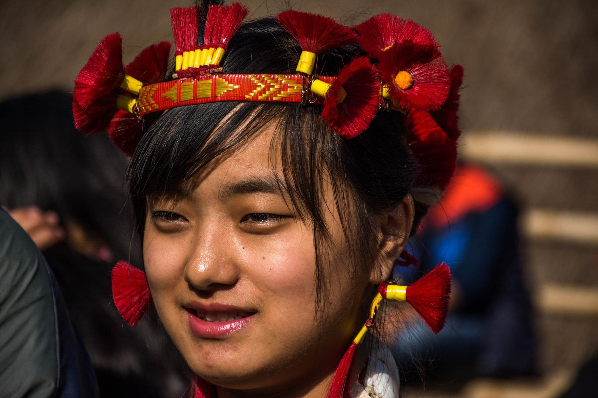 Naga Woman in Hornbill Festival 2017