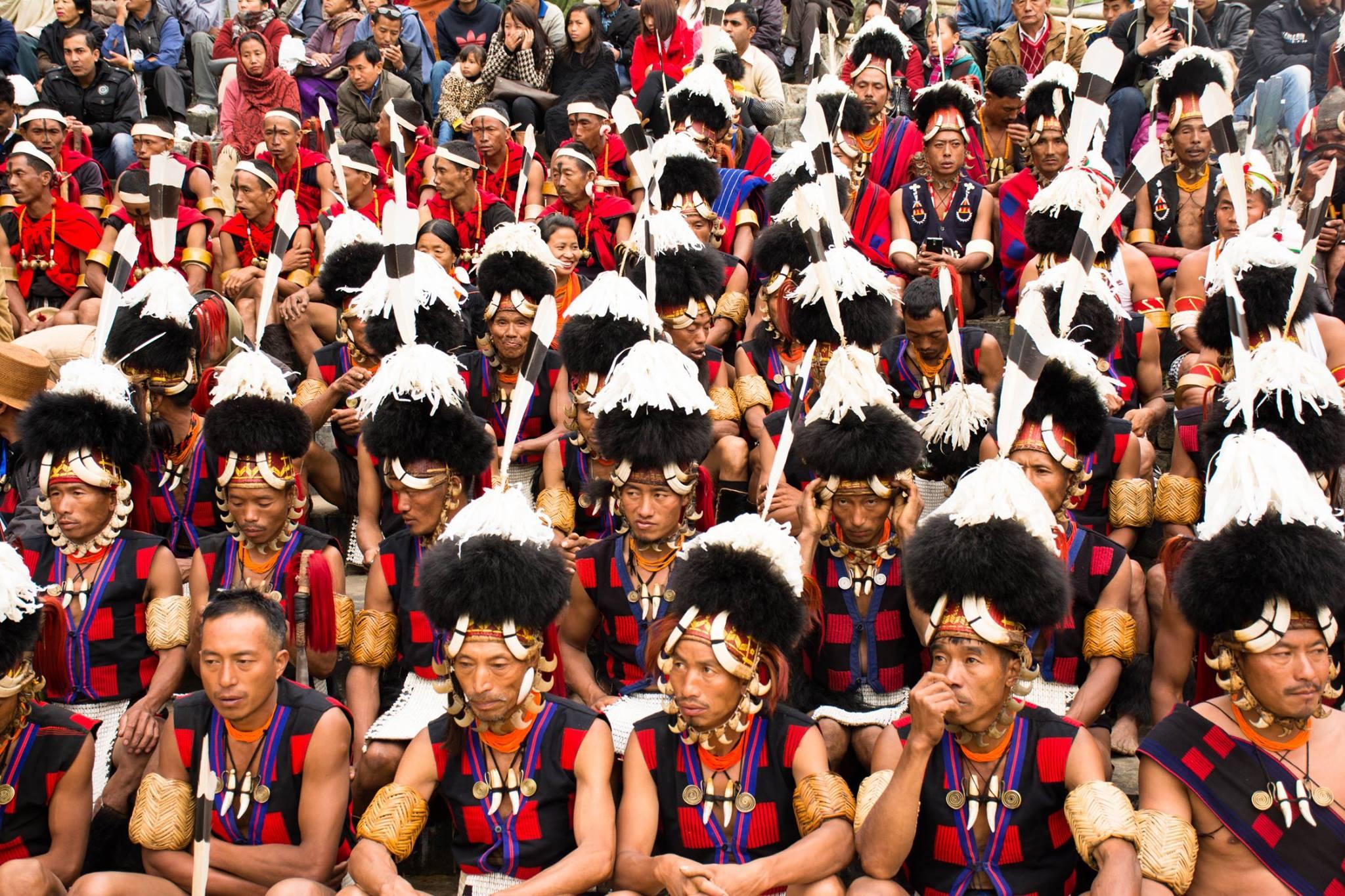 Nagas at Hornbill Festival