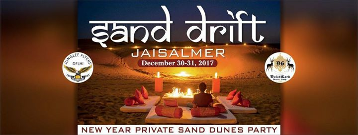 New Year Private Sand Dunes Party