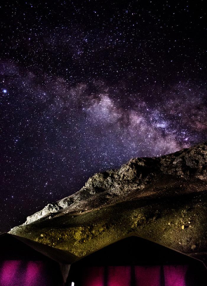 Mlky Way Photo by Tso Moriri