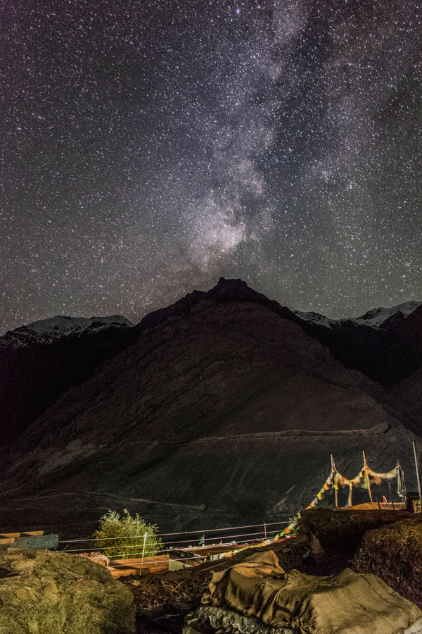 Milky Way in the Spiti Valley