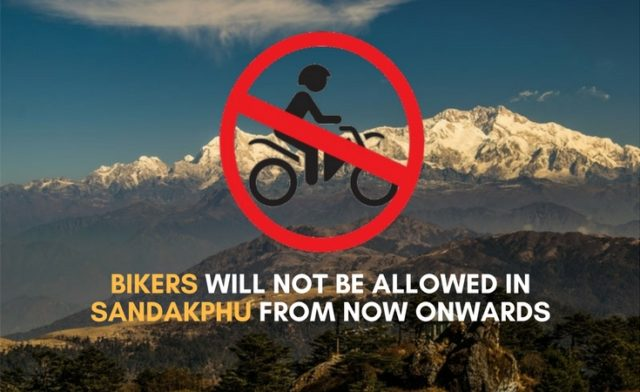 """sandakphu by bicycle """"/> </div> <p> <!-- A generated by theme --> </p> <p> <!-- end A --> </p> <p>  The latest news is that no motorcycles are allowed to drive to Sandakphu Many cyclists return from Sandakphu Checkpost 31 km away to Sandakphu and 3 km from Chitrey </p> <h2><strong>  Sandakphu by bicycle is not allowed from now on (April 2018) </strong></h2> <p><strong>  The message was recently declared by the Divisional Forest Officer <br /></strong></p> <p><strong>  This notice is pending as of April 2018. </strong></p><div><script async src="""