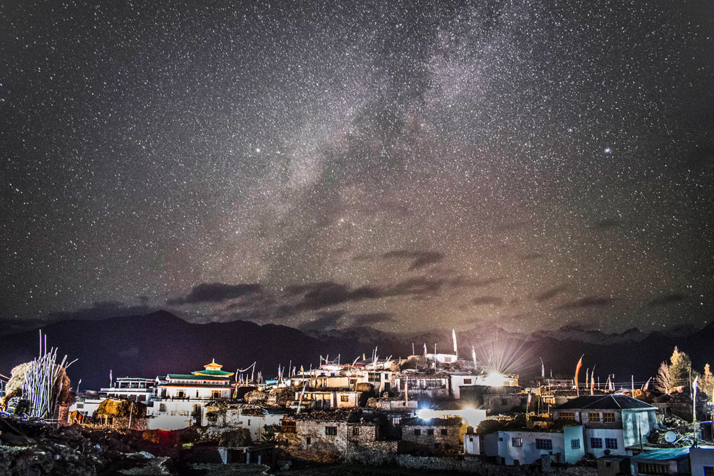 Milky Way of Nako Village