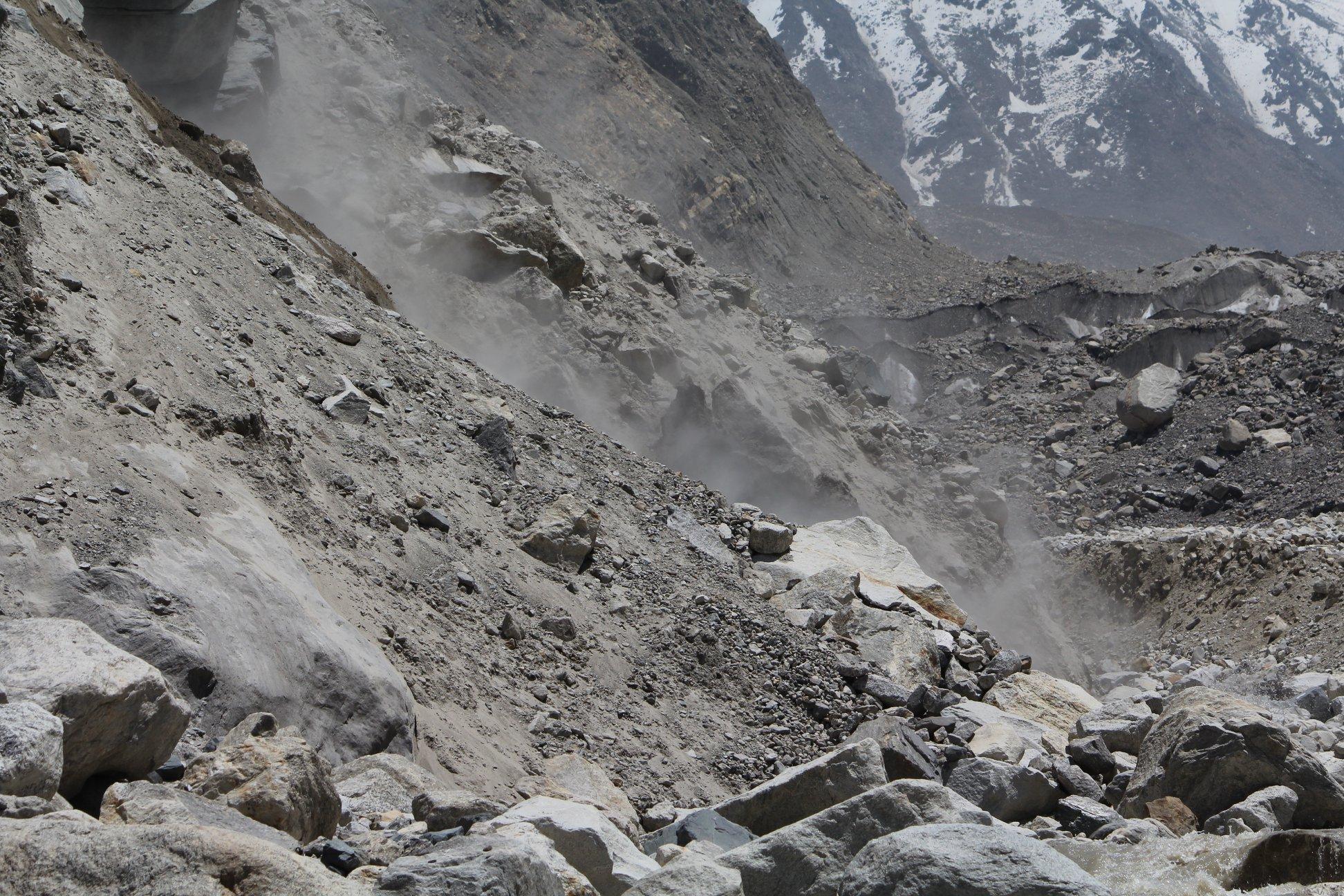 gangotri glacier landslide