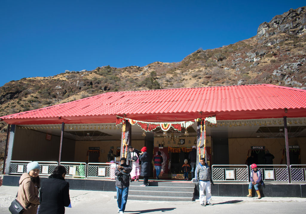 Gangtok Baba Mandir entrance