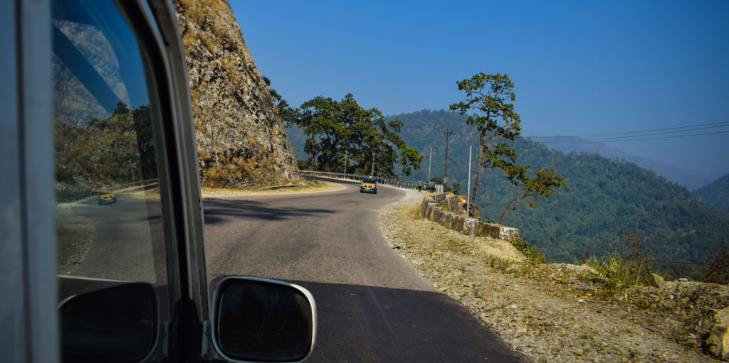 Road to Gangtok
