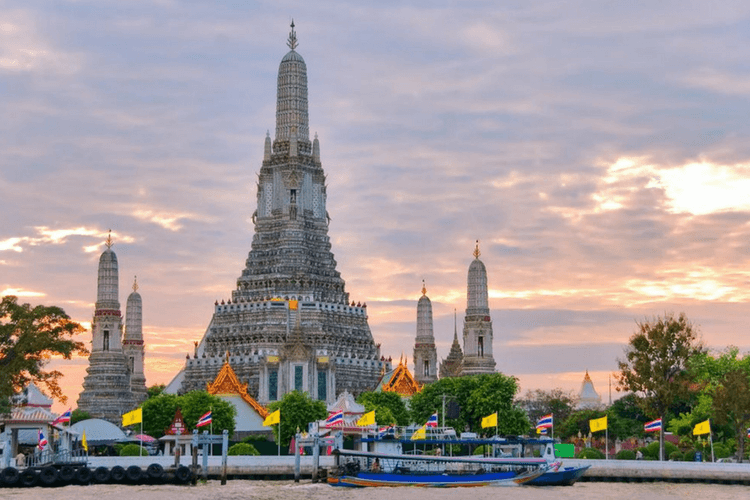 Wat Pho and Wat Arun, Bangkok
